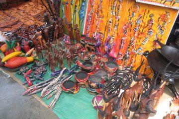 Marché artisanal de Manzini (Swaziland)