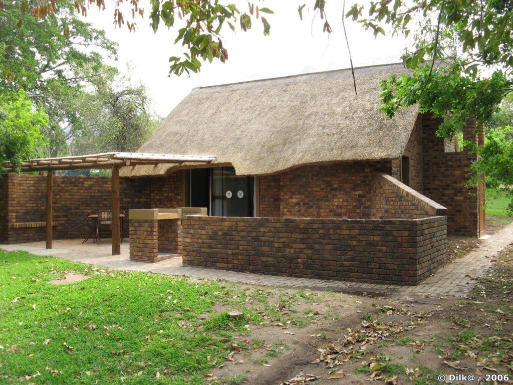 Notre lodge au Rest Camp de Berg En Dal