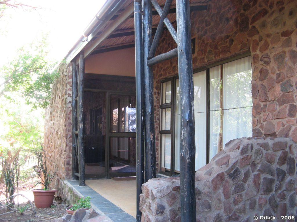 Notre appartement à Zulu Nyala Game Lodge situé à l'intérieur de la réserve privée Zulu Nyala