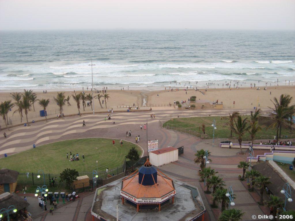 Le front de mer vue de notre chambre d'hôtel