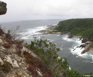 Vue sur Storms River Mouth