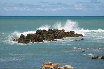 La mer au Cap Agulhas