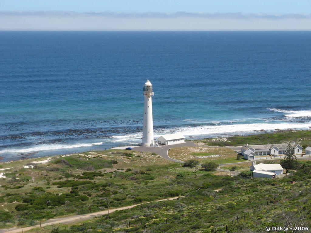 le phare de Kommetjie à Chapman's Bay