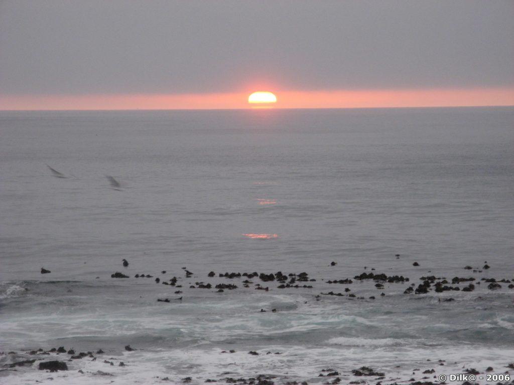 Coucher de soleil au Cap