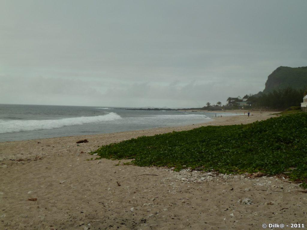 la plage de Boucan-Canot