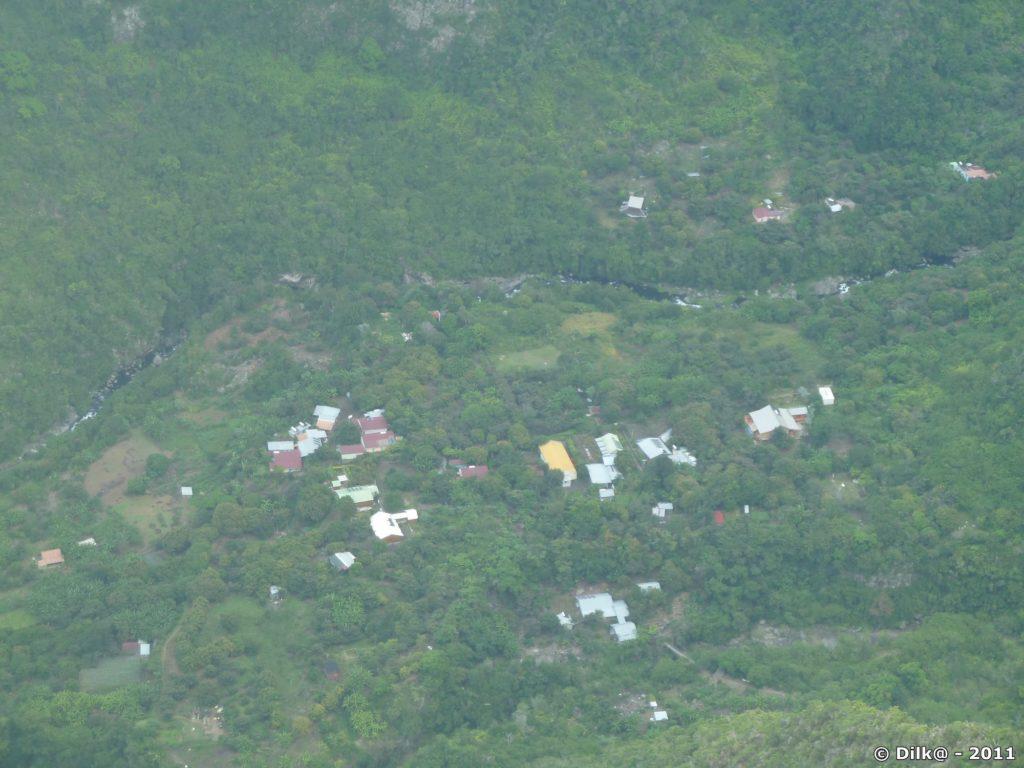 le village depuis le belvédère de Bois Court