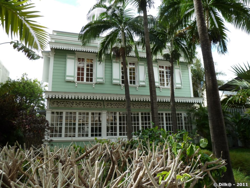 maison créole restaurée
