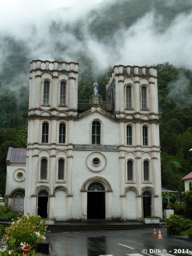 l'église de Salazie