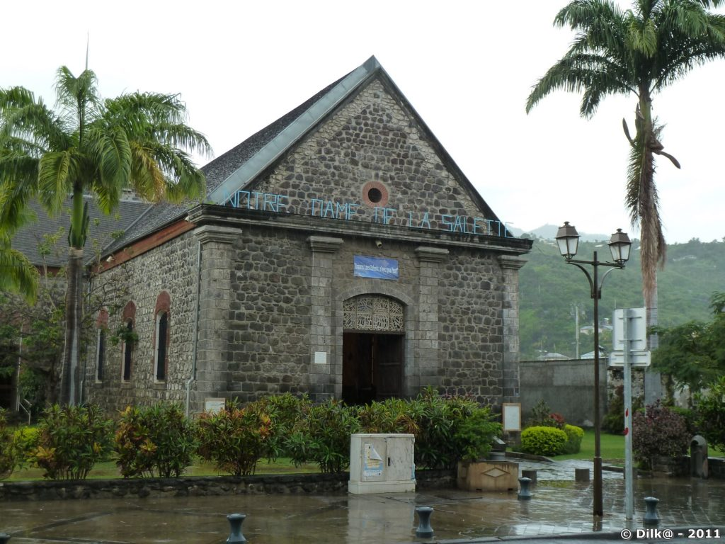 la chapelle Notre-Dame de la Salette à Saint-Leu