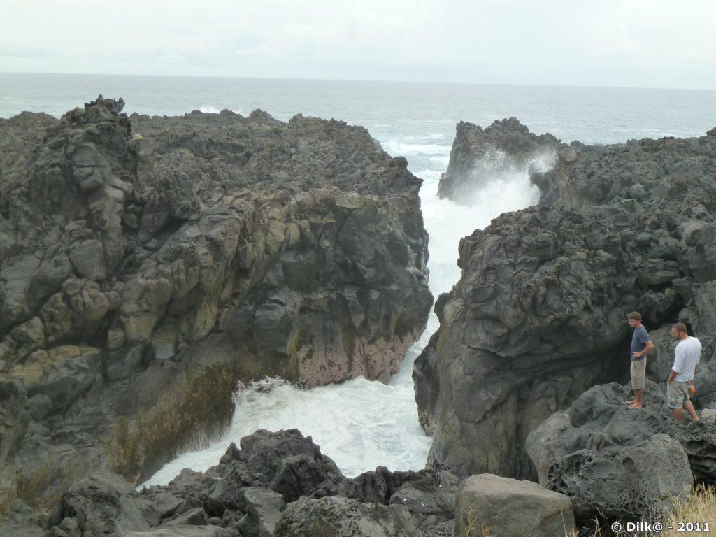 le Gouffre près d'Étang-Salé