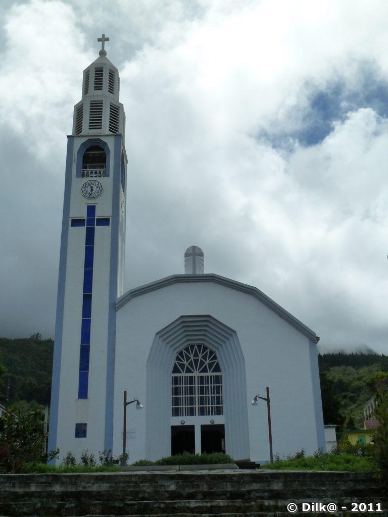l'église de Cilaos