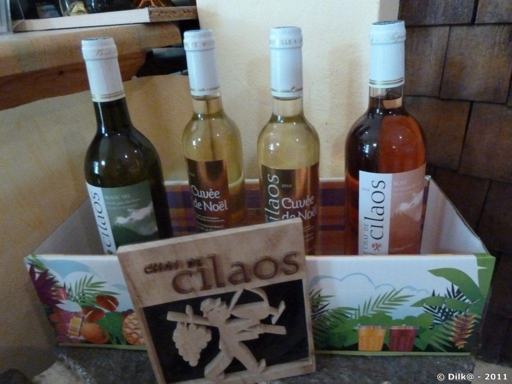 le vin de Cilaos