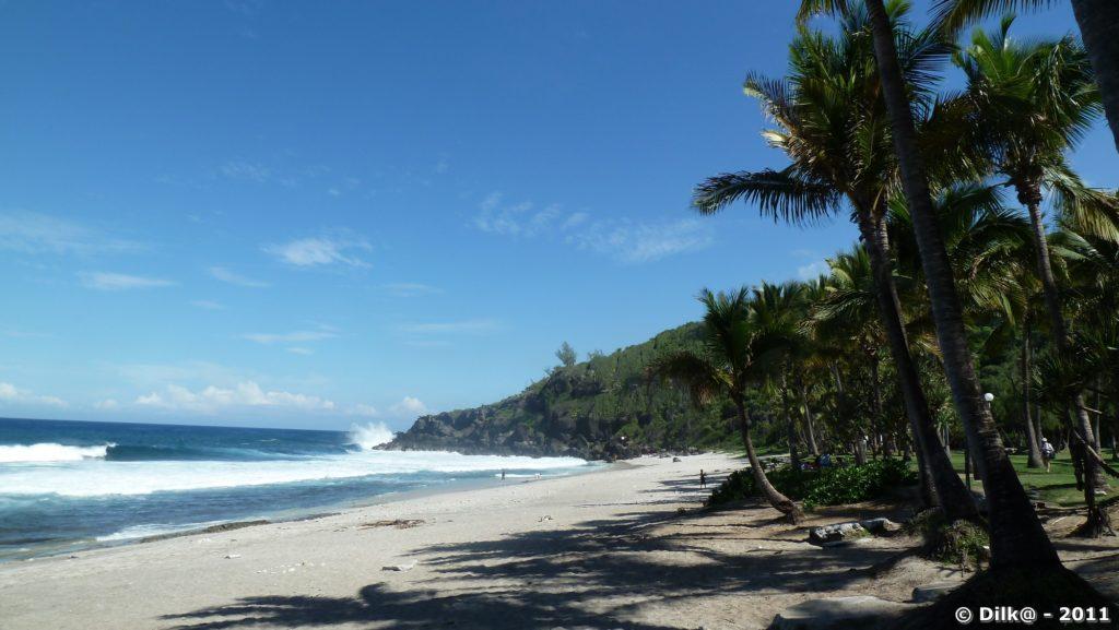La plage de Grande Anse
