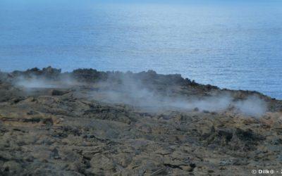 la lave encore fumante de 2007