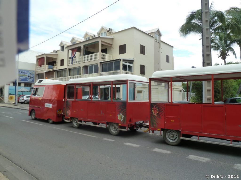 le petit train touristique de la Saline