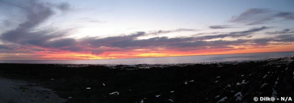 Le Cap après le coucher de soleil