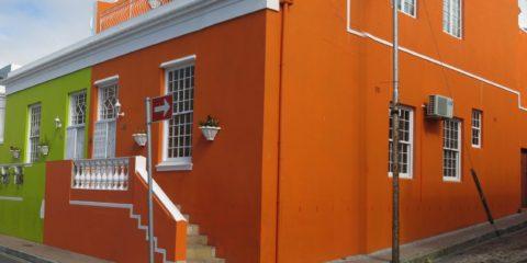 Le quartier de Bo-Kaap au Cap