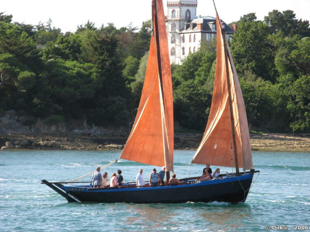 Vieux gréement dans le golfe du Morbihan