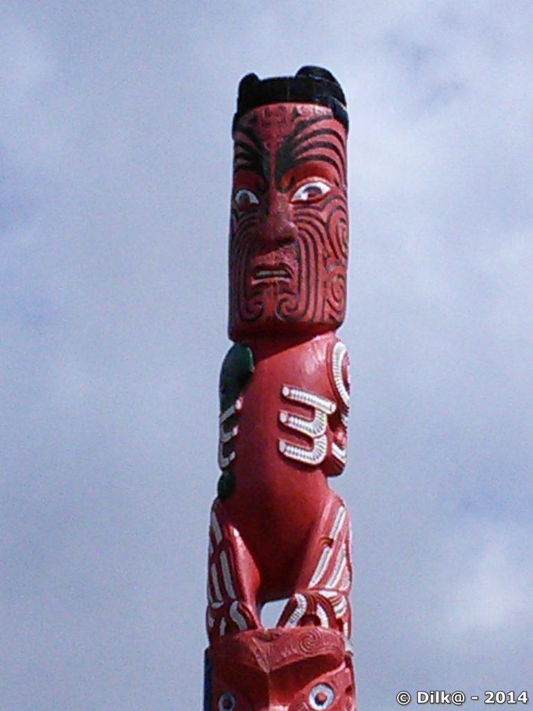 Entrée du village maori
