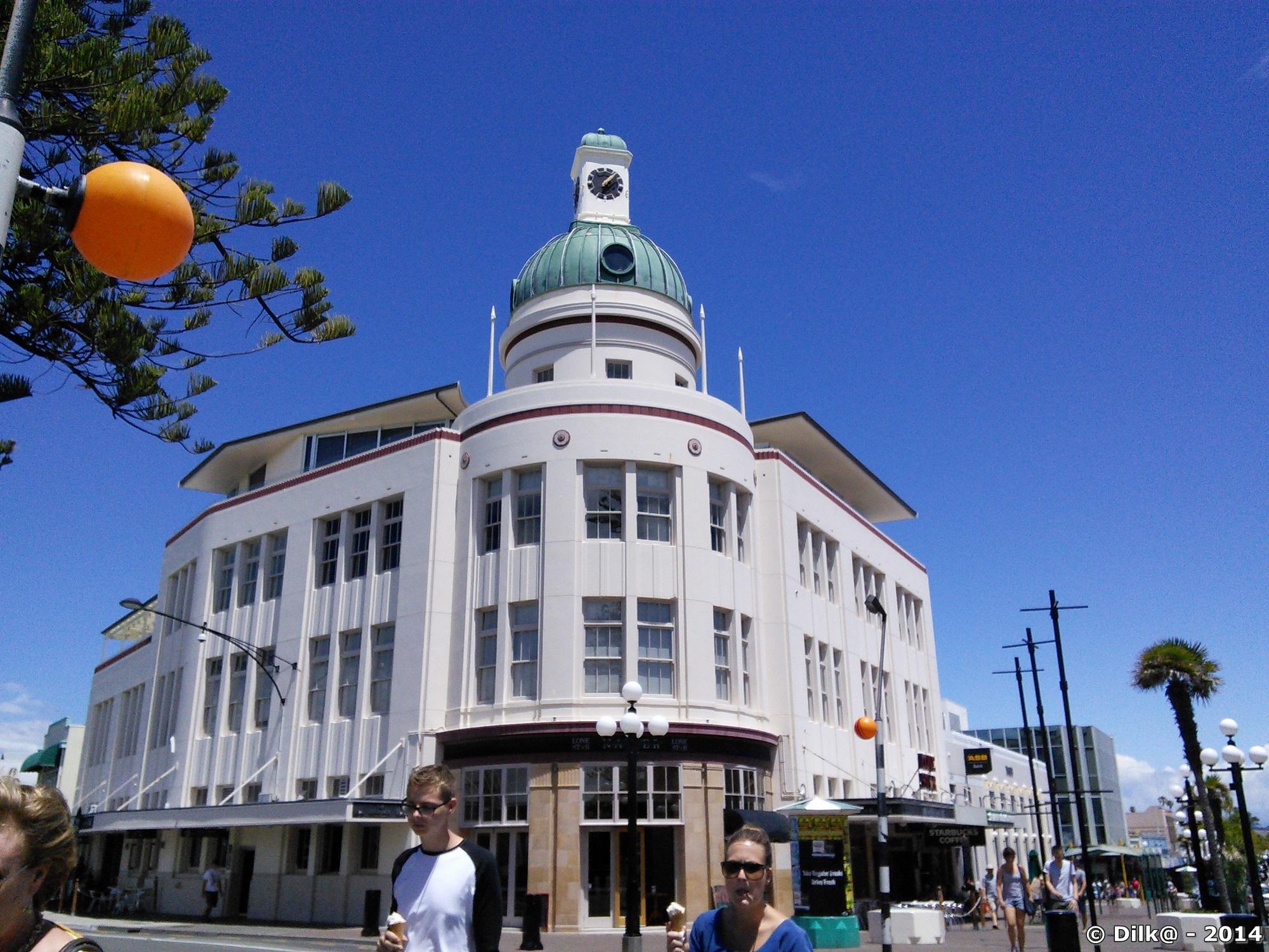 La ville de Napier