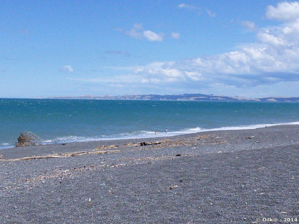La plage de Napier