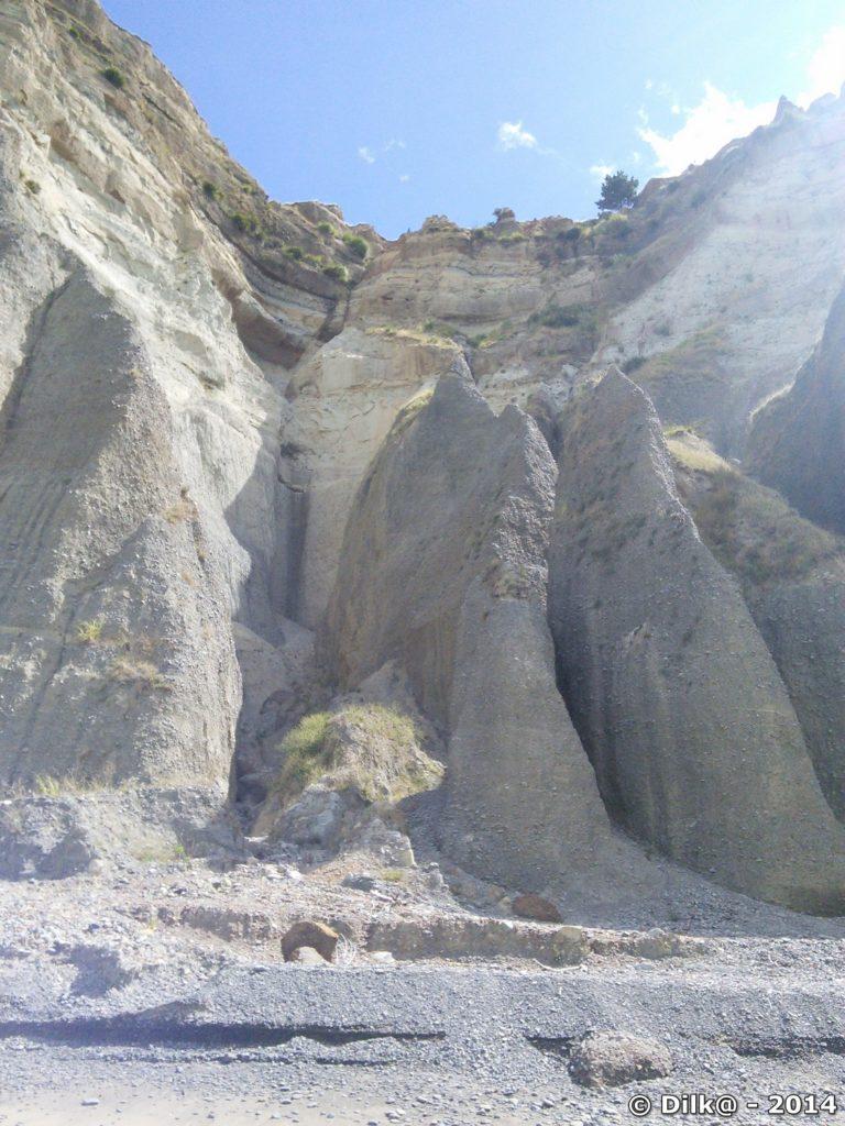 Les falaises de cape Kidnappers