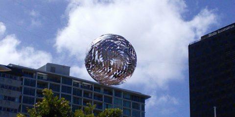 La sphère de Dawson à Wellington