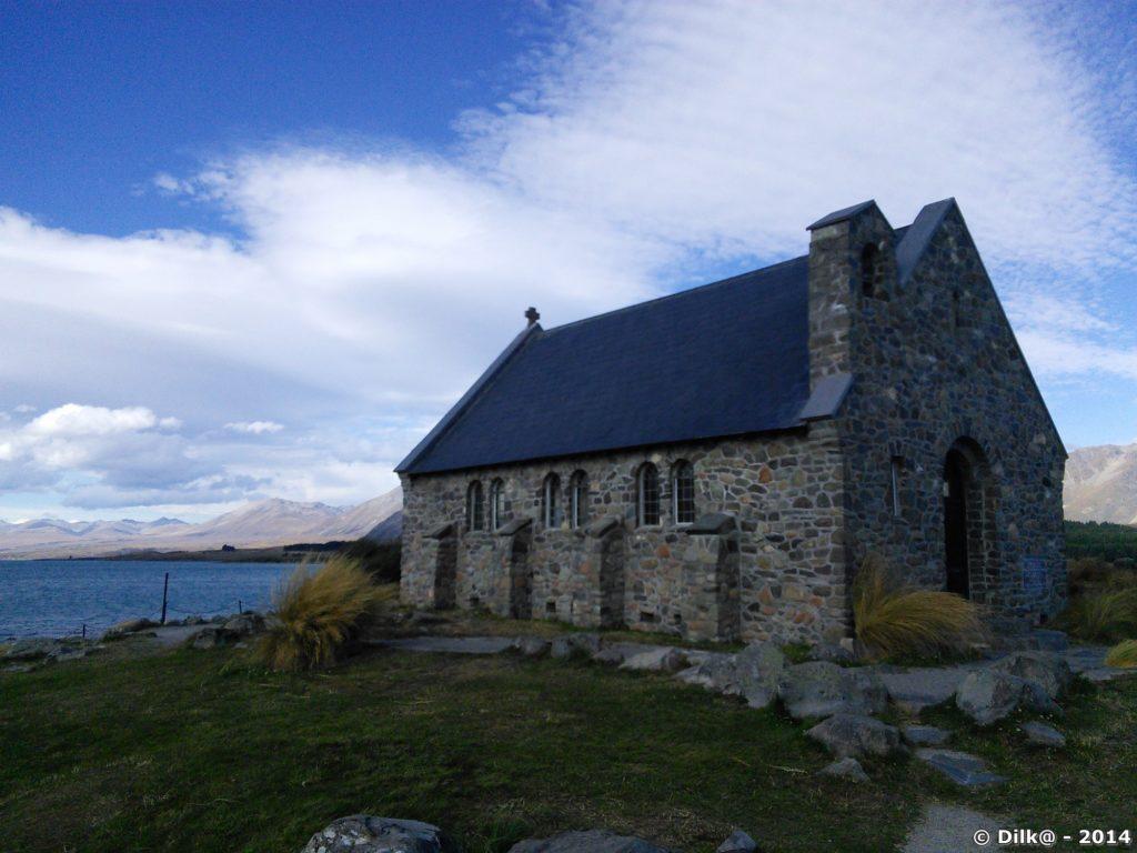 Church of the good Shepherd sur le bord du lac Tekapo