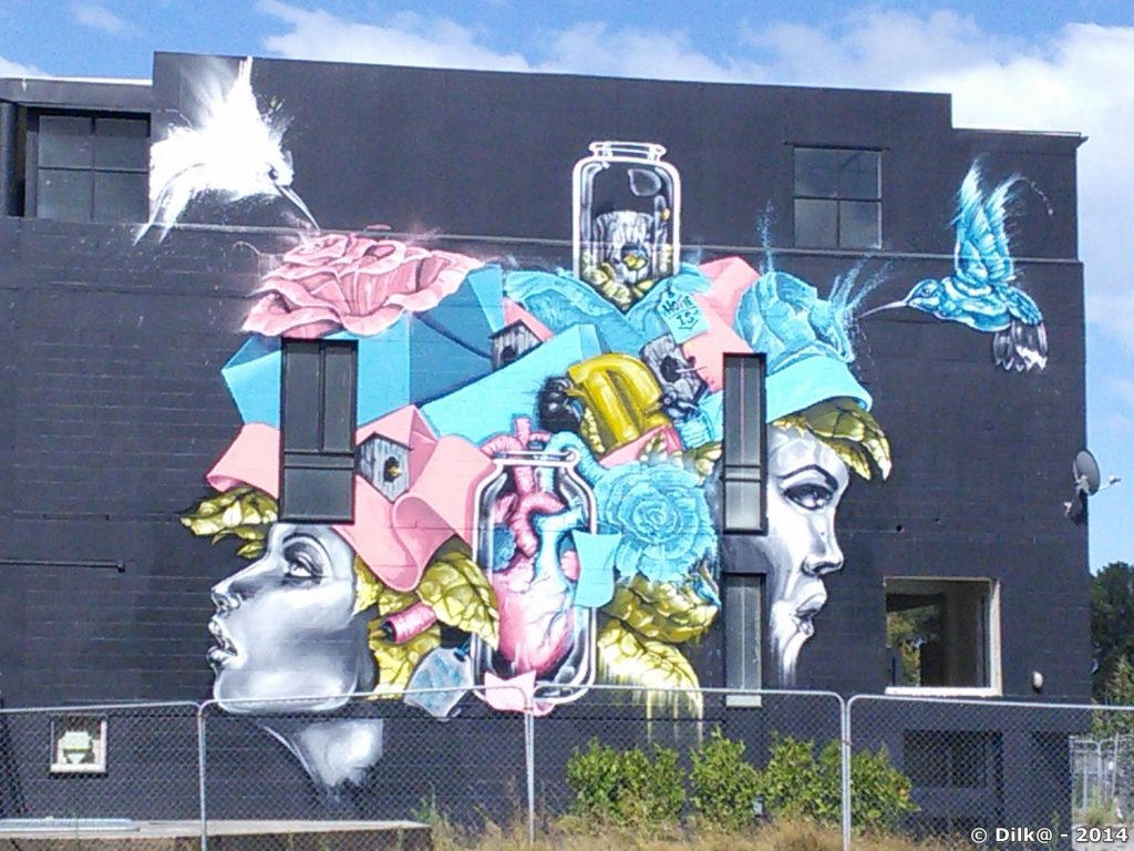 Street-art dans Christchurch