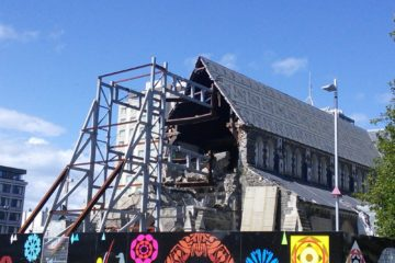 La cathédrale de Christchurch