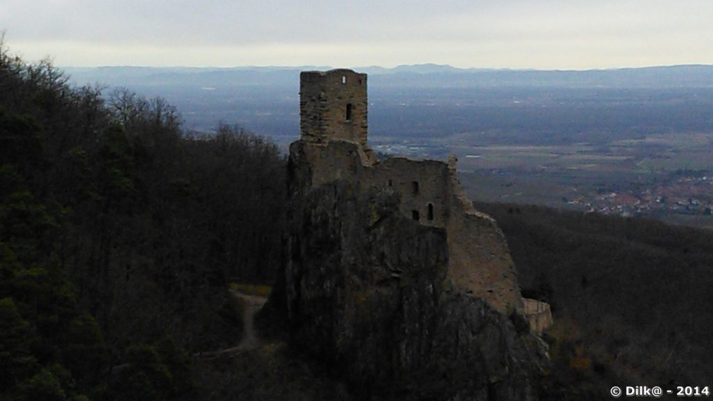 Le château de Guirsberg