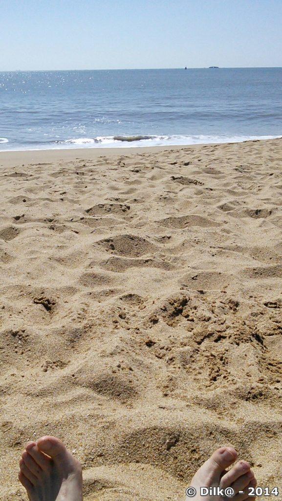 Sieste sur la plage...