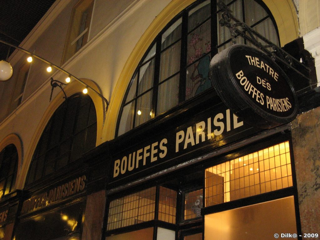 Théâtre des bouffes parisiennes