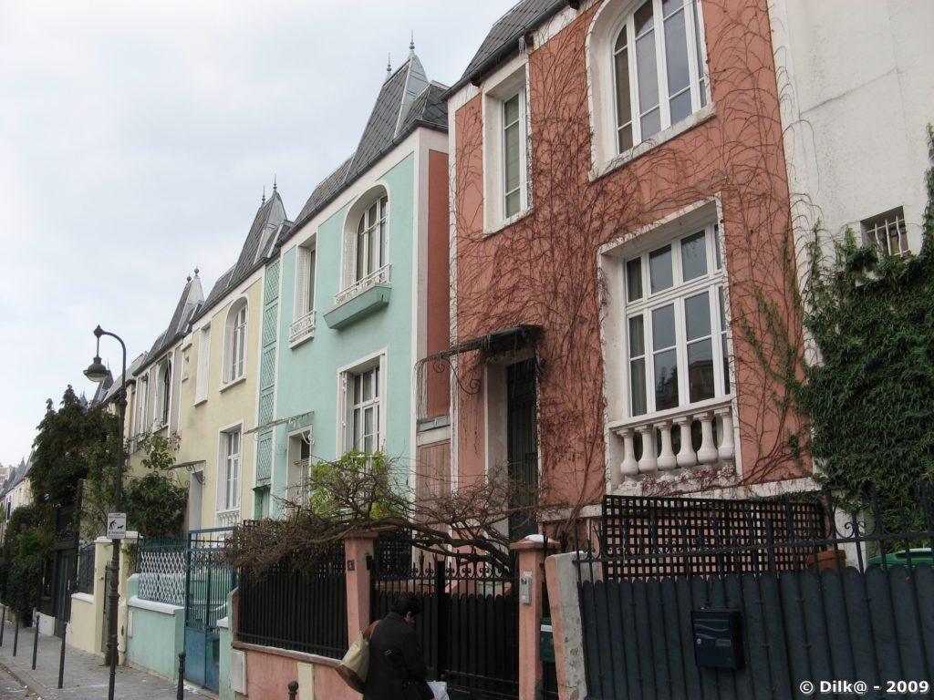 Maisons dans le 13ème ardt de Paris
