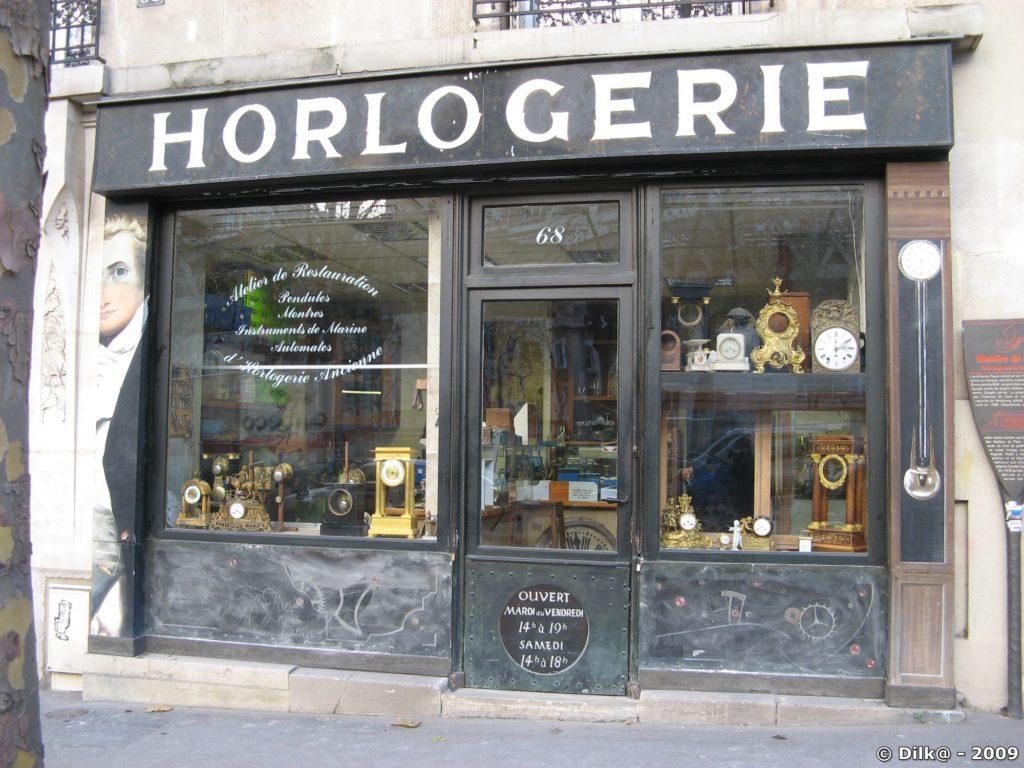 Devanture à l'ancienne (13ème ardt Paris)