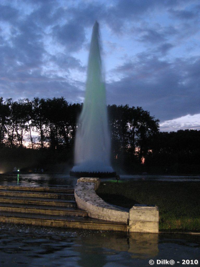 Grandes eaux au château de Versailles