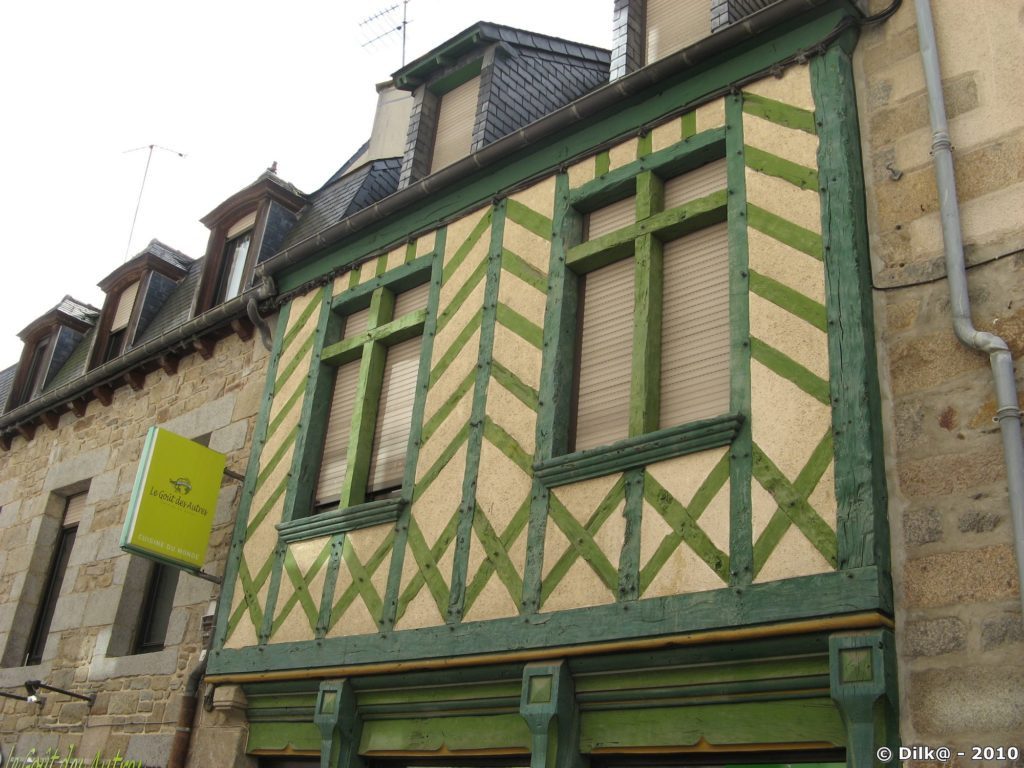Maisons à pans de bois à Saint-Brieuc