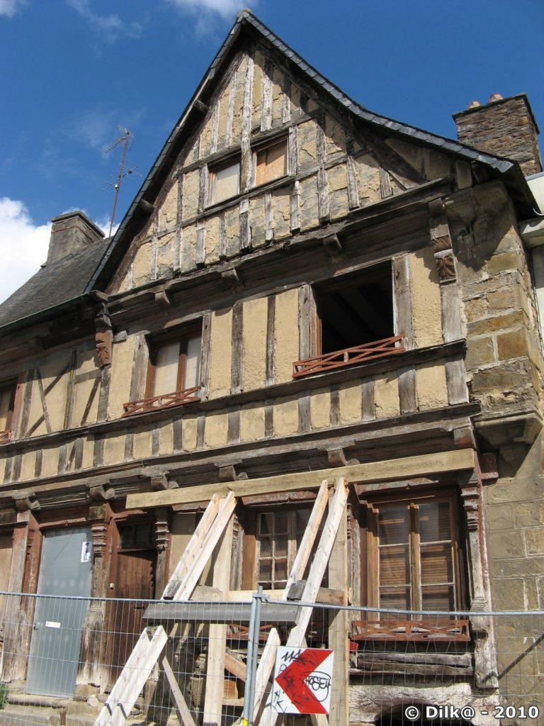 La maison de la barrière à Saint-Brieuc