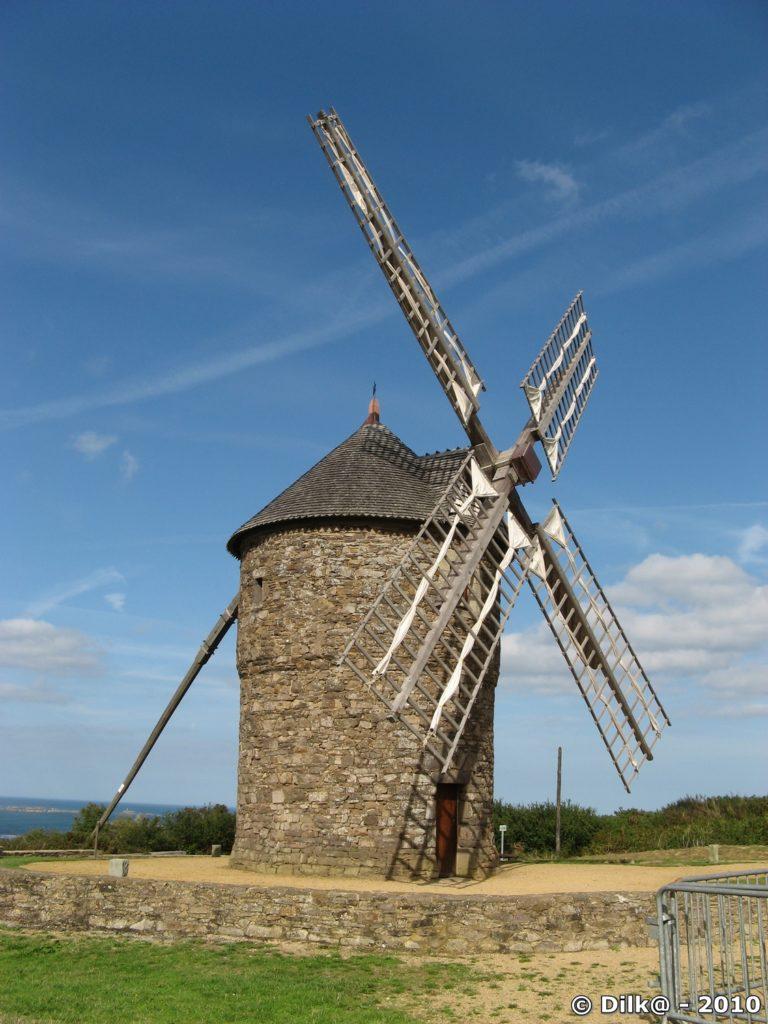 Plouézec - le moulin de Craca