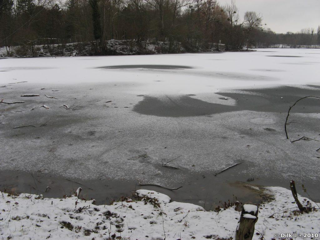 Promenade des étangs de Cergy