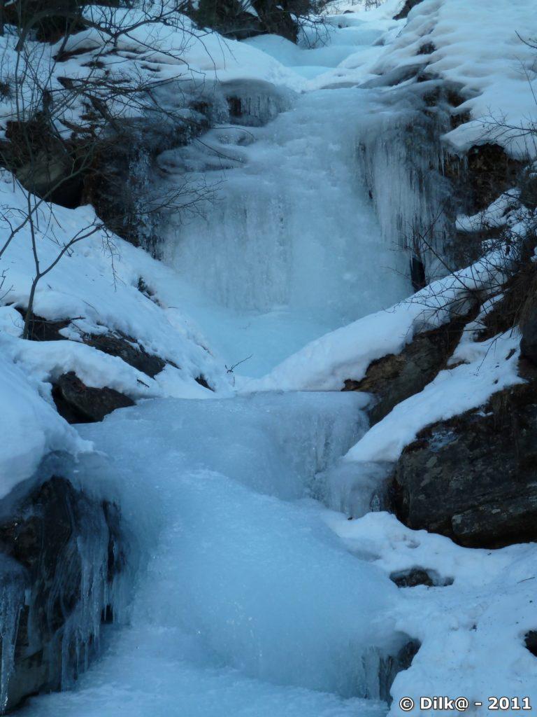 Torrent gelé