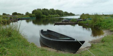 Barque pour la promenade dans le marais de Brière