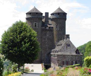Le château d'Anjony à Tournemire