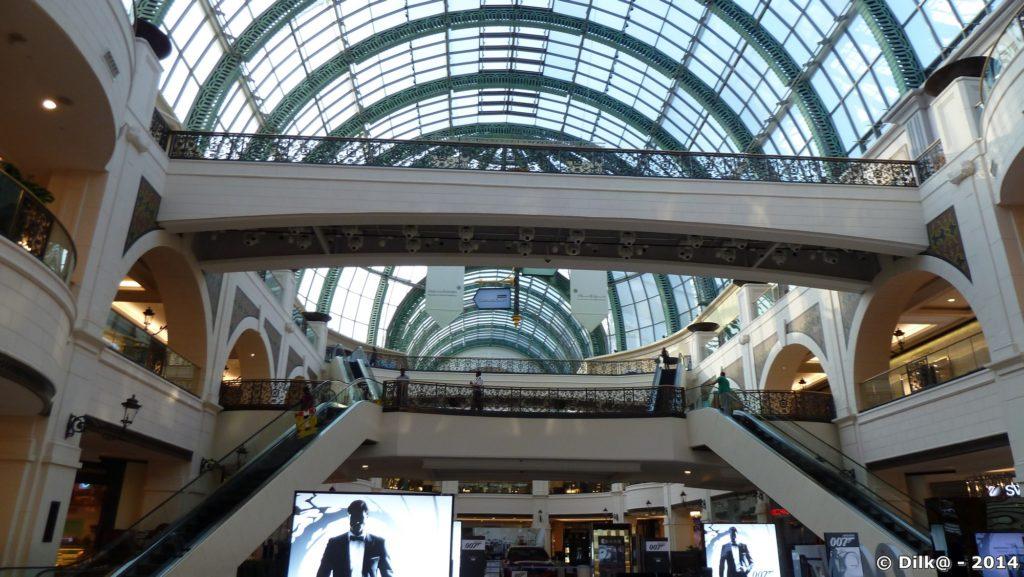 Les grands mall de luxe de Dubai