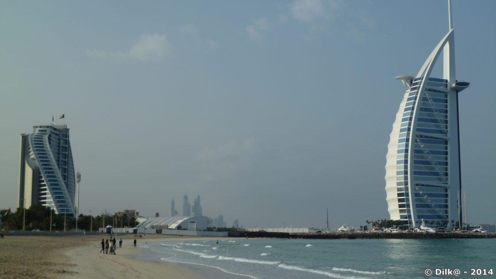 La tour Burj al-Arab à Dubai