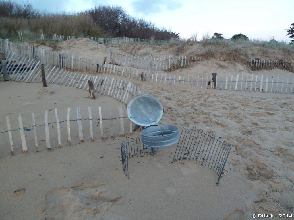 La poubelle de plage