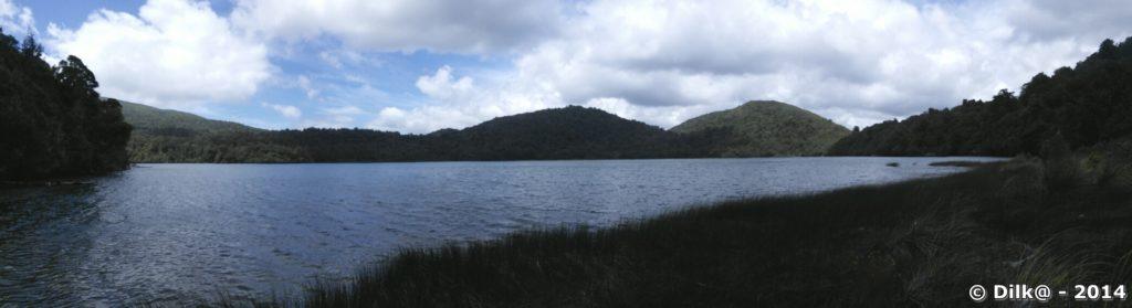 Le lac Rotopunamu