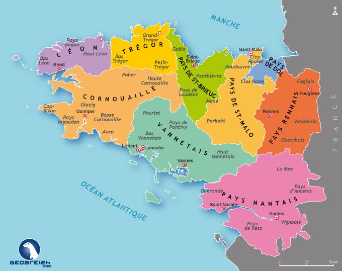 © Géographie de Bretagne - Tous droits réservés - 2011 Réalisation : Mikael Bodlore-Penlaez - www.geobreizh.com