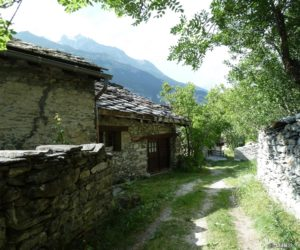 Le hameau du Châtel (près de Bramans)