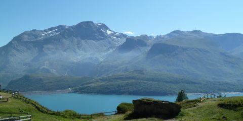 Le lac du Mont-Cenis et le barrage